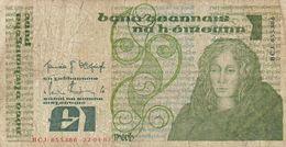 IRLANDE  Billet De  1 Livre  22/04/87 - Irlanda