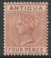 Antigua 1886 Sc 16  MH - Antigua & Barbuda (...-1981)