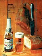 """PUB BIERE """" KRONENBOURG """" 1961 (1) - Alcohols"""