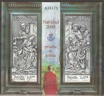 ESPAÑA 2009 NAVIDAD PRUEBA DE ARTISTA 100 USADO - 1931-Heute: 2. Rep. - ... Juan Carlos I