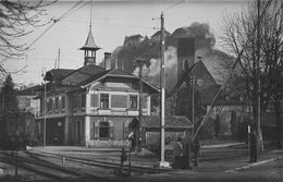 LENZBURG SWITZERLAND~BAHNHOF~GLOBETROTTER PHOTO POSTCARD 47625 - AR Appenzell Rhodes-Extérieures