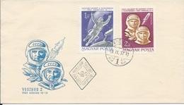Letter FI000107 - Hungary Soviet Union (USSR SSSR Russia) Space Program 1965 - Hungary