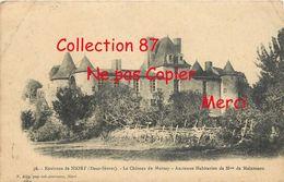 ☺♦♦ CHATEAU De MURZAY à Mme De MAINTENON - Châteaux