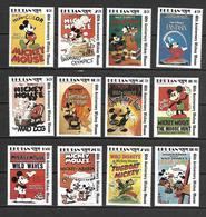 Disney Set Bhutan 1989 Mickey Mouse MNH - Disney