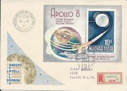 Letter FI000112 - Hungary USA Space Program Apollo 8 1968 - Hungary