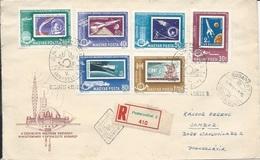 Letter FI000114 - Hungary Soviet Union (USSR SSSR Russia) Space Program 1963 - Hungary