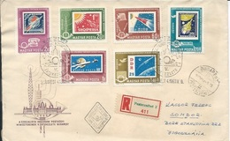 Letter FI000115 - Hungary Soviet Union (USSR SSSR Russia) Space Program 1963 - Hungary
