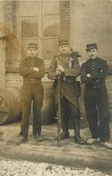 Militaria - Guerre 1914-18 - Régiments - 56ème Régiment D'infanterie - Chalon Sur Saone - Carte Photo - état - Guerra 1914-18