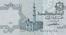 EGYPTE  Billet De  25 Piastres  état Proche Du Neuf - Egipto