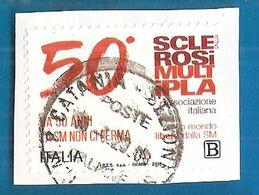 2018 ITALIA Sanità Salute  Associazione Italiana Sclerosi Multipla - AISM-  Zona B - Usato - 6. 1946-.. Repubblica