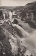 Génissiat 01 - Barrage - Chute, Saut Du Ski Et Barrage - Oblitération La Cluze 1950 - Génissiat