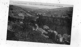 VALLEE ET ROUTE DE MONTAIGUT-LE-BLANC A CHAMPCIR - Otros Municipios