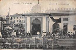 MAROC - CASABLANCA - Exposition Franco-Marocaine 1915 - Casablanca