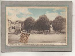 CPA - (01) PONT-de-VAUX - Aspect Du Buste De Chaintreuil Sur La Promenade Des Champs-Elysées En 1930 - Pont-de-Vaux