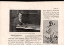 Article Coupure De Presse 1 Page(s)  Année 1920 Le Dessinateur POULBOT - Vecchi Documenti