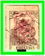 REPUBLICA POLIZA CLASE 9ª VALOR FISCAL PERIODO 1931-1939 LA POLIZA ES LA DE LA IMAGEN - 1931-Aujourd'hui: II. République - ....Juan Carlos I