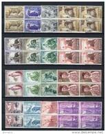 España 1960. Edifil 1254-69 X 4 ** MNH. - 1931-Heute: 2. Rep. - ... Juan Carlos I