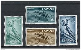 Sahara 1965. Edifil 242-45 ** MNH. - Sahara Espagnol