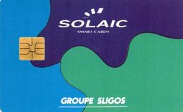 CARTE GROUPE SLIGOS - Puce SOLAIC SO3 - France