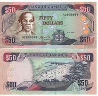 JAMAICA  50 Dollars  P79e   Dated 15.1.2004 - Giamaica