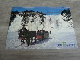 CHUTES DE MONTMORENCY EN HIVER - - Montmorency Falls