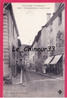 15 - CHAUDESAIGUES--Rue Saint Joseph---animé - Sonstige Gemeinden