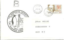 Norway 1986 With Polar Searcher Hans Egede, Cancelled The Norwegian Antarctic Research Mi 954, - Norwegen