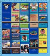 10 Pochettes D'allumettes Sans Allumettes - 1995s Camel, D.D. Bean & Suns,  Advertising, Publicité  Cigarette Tobacco - Tobacco (related)