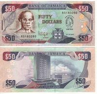 JAMAICA  50 Dollars  P88   50th Anniversary Bank Of Jamaica  Dated 01.10.2010 - Giamaica