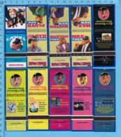 10 Pochettes D'allumettes Sans Allumettes - 1995s Camel, D.D. Bean & Suns,  Advertising, Publicité  Cigarette Tobacco - Tabac (objets Liés)