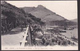 CPA - Algérie - Oran - La Promenade De Létang - Vue Vers Santa-Cruz - LL N°156 - Oran