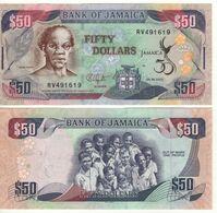 JAMAICA  50 Dollars  P89    Golden Jubilee Of Jamaica, 1962-2012  Dated 08.08.2012 - Giamaica