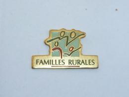 Pin's FAMILLES RURALES - Verenigingen