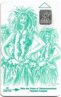 French Polynesia - OPT - Vahiné Green - SC4 SB, Cn. 42596 Impact Dot By Dot, 60Units, 90.000ex, Used - Polynésie Française