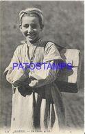 139521 AFRICA ALGERIA ARGEL ALEGER COSTUMES THE BOY POSTAL POSTCARD - Cartoline