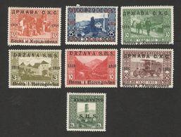 BOSNIA-SHS YUGOSLAVIA- 7  MNH STAMPS -1918. - Bosnien-Herzegowina
