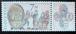 2002 Slovakia Mnh - Uva Raisin Grape Traube Wine Vin Vino Barrel - Ongebruikt