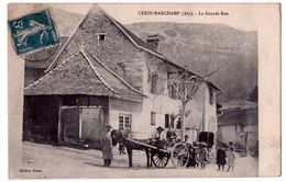 7512 - Cerin-Marchamp ( 01 ) - La Grande Rue - éd. Blanc - - Autres Communes