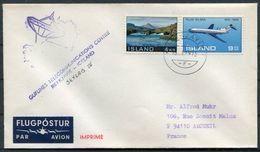 1973 Iceland Reykjavik Space Rocket Cover. SKYLAB 4 - Europe