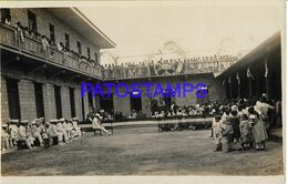 139537 PANAMA COSTUMES PEOPLE HELP YEAR 1924 POSTAL POSTCARD - Panama