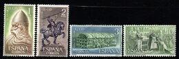 1962 Spagna, Rodrigo Diaz De Vivar El Cid , Serie Completa Nuova (**) - 1931-Aujourd'hui: II. République - ....Juan Carlos I