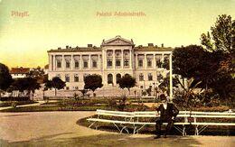 PITESTI / ARGES : PALATUL ADMINISTRATIV - EDITURA AD. MAIER & D. STERN / BUCAREST ~ 1905 - '907 (af315) - Romania