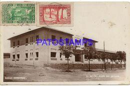 139540 AFRICA AFLOU ARGELIA ALGER THE SCHOOL POSTAL POSTCARD - Cartoline