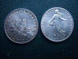 FRANCE = UNE PIECE  DE 1 FRANC  1920  EN ARGENT - Frankrijk