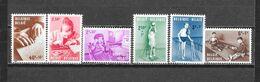 België  1962 Y&T  1225/30 (**) 50% - Belgium