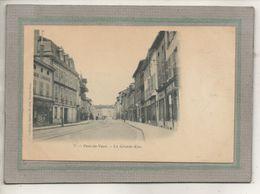 CPA - (01) PONT-de-VAUX - Aspect De L'Imprimerie-Lithographie Dans La Grande-Rue Au Début Du Siècle - Pont-de-Vaux