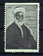 WW1 - RR -   DELANDRE - HUSSEIN , Cherif De La Mecque -    Vignette NEUVE ( Sans Traces De Charnières ) - NMNH - Vignettes Militaires