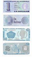 230 VENEZUELA COPPIA DI BOLIVAR 1 E 2  DEL 1989  FDS NUOVI - Venezuela
