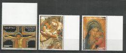 PALESTINE - MNH - Art - Painting - Religious - Gold - Religión