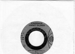 Disque  45 T - SP - Kingsmem - Jimmy Gilmer - Lesley Gore - Sam The Sham - K.TEL.BEP 17808 - 1978 - Sans Pochette - Rock